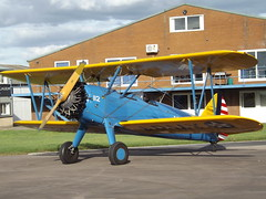 G-BSWC Boeing Stearman (Aircaft @ Gloucestershire Airport By James) Tags: gloucestershire airport gbswc boeing stearman egbj james lloyds