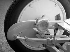 Shock Absorber (jcurtis4082) Tags: 60mm absorber bw benz blackandwhite diamler em1 germany mercedes olympus shock squalicum stuttgart suspension