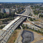 New Pacific Avenue overpass and new northbound Interstate 5 bridge in Tacoma thumbnail