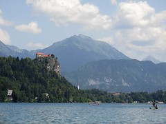 (nina.pesut) Tags: bled slovenia nature blue sky clouds