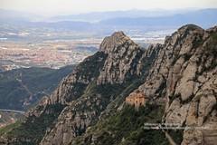 Montserrat, mountain-view (blauepics) Tags: spain spanien espaa katalonien catalunya catalua montserrat landscape landschaft berge mountain rocks felsen view aussicht monastery kloster wallfahrtsort pilgrimage