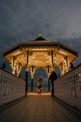 Brighton Bandstand (mattglasby) Tags: brighton seaside bandstand evening night streetphotography sussex coast
