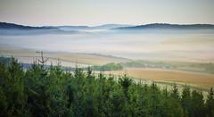 Morning Landscape (vladvizante) Tags: outdoor landscape serene sky morning cold fog dew countryside nature romania nikon d3300 field
