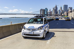 New Smart For NYPD Cops (Static Phil) Tags: smart nypd cops cars