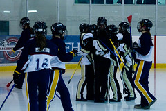 Polar Ice vs Vipers (blehmanphotos) Tags: ontario canada ice sports womens broomball arena finals nationals stratford 2012 polarice vipers newhamburg canadiannationals