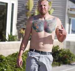 Such is life (San Diego Shooter) Tags: portrait beach tattoo sandiego streetphotography tattoos pacificbeach sandiegopeople sandiegostreetphotography