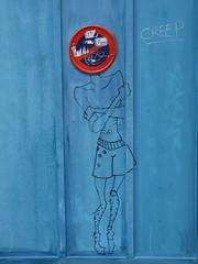 recherche titre dsesprment! avis aux amateurs (Corinne Bguin) Tags: streetart 75018 paris18e 18e sarkoland