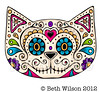 SugarSkull Cat