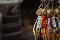 Smiley Rings (priyam.n) Tags: nikon dolls puppet delhi dillihaat keyrings