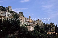 France. french Riviera. perched village on the french riviera  Roquebrune  France  /  la riviera  le vieux village perche  Roquebrune  France   / R00097/1    L1006  /  R00097  /  P0003057 (setboun photos) Tags: france landscape europe outdoor paysage espace westerneurope mediterraneansea frenchriviera roquebrune exterieur grandespace villageperche europedelouest largespace perchedvillage southeastoffrance sudestdelafrance alpesmaritimes06 provencealpescotesdazurregion