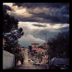 (sunshinecity) Tags: storm clouds nuvole thunder temporale iphoneworld instagram mdpd2012 mdpd201204 april19th2012