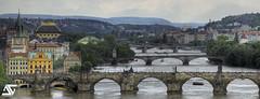 Vltava (A.G. Photographe) Tags: bridge nikon raw republic czech prague charles praha ag nikkor fx 70200 hdr anto d800 tchque xiii charlesiv vrii antoxiii hdr5raw agphotographe