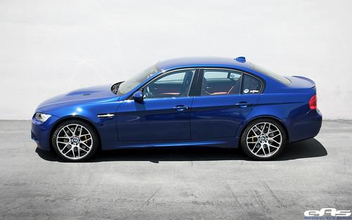 Flickriver: Photoset 'Interlagos Blue E90 M3 w/ AP Racing