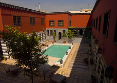 Talisman Hotel, Damascus, Syria (Eric Lafforgue) Tags: tourism pool hotel syria damascus siria syrien syrie sirja suriye   syri  sria szria     suriah sirija  cp  sora
