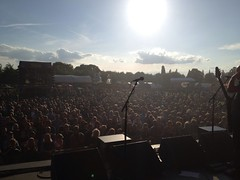 during our set at Highlands Festival Holland