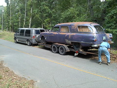 085 (stevenbr549) Tags: car commercial dodge trailer 300 van hearse 250 towing packard 1951 tradesman henney