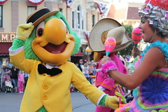 Mickey's Soundsational (Loren Javier) Tags: california disneyland disney anaheim townsquare mainstreetusa disneylandresort disneycharacters threecaballeros josecarioca mickeyssoundsationalparade mickeyssoundsational