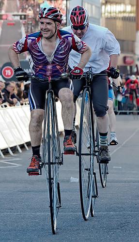 Brooks penny-farthing race, Smithfield nocturne