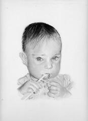 bambina con spazzolino