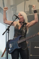 "Girlschool @ RockHard Festival 2012 • <a style=""font-size:0.8em;"" href=""http://www.flickr.com/photos/62284930@N02/7450019768/"" target=""_blank"">View on Flickr</a>"
