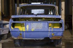 Lada azul y amarillo Fotografía