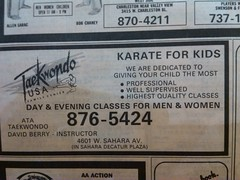 ATA Taekwondo 1989 (frankasu03) Tags: las vegas kids studio martial arts retro taekwondo 80s recreation 90s ata