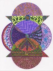 Zentangle 29 (ronniesz) Tags: art pen ink doodles zia tangles zentangle