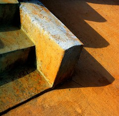 Tre per tre (meghimeg) Tags: shadow sun stairs ombra steps explore scala sole 2012 imperia gradini