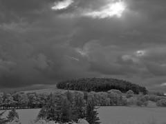 The View (Sibokk) Tags: camera blackandwhite bw white black digital ir photography mono casio filter exilim exz1080
