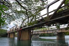 old bridge over Iwahig River (YangMinLi) Tags: bridge nature water palawan top20bridges