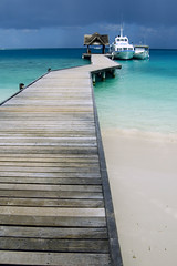 Maldives Islands. Kuramathi Island Resort