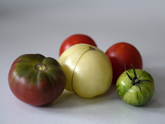 _1150026 (Old Lenses New Camera) Tags: stilllife plants garden tomatoes harvest cine panasonic telephoto g1 f25 wollensak 63mm 212inch