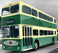 Prototype Atlantean. (Renown) Tags: buses prototype stokeontrent staffordshire coaches doubledecker leyland newcastleunderlyme mcw demonstrator preproduction pmt atlantean metrocammell potteriesmotortraction pdr1 semiintegral 281atc