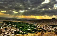 Rainfall Of Light (A.R.Khomarian) Tags: sky cloud clouds village iran cloudy ali reza  hdr alireza     neyshabur  flickraward   khomarian