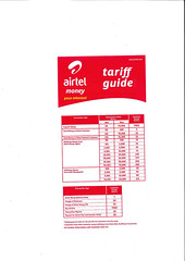Airtel Money Kenya Tariff Guide_Page_1