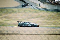 BMS Scuderia Italia Aston Martin DBR9 GT1 (Moments of Yesterday) Tags: france film 35mm 2006 fabio christian mans le fabrizio hours 24 amateur francais sarthe pescatori gollin babini