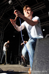 Rolo Tomassi @ Tramlines Music Festival Sheffield 2012 (ErhuDave) Tags: uk musician david art festival rock studio concert punk experimental singing live stage sheffield gig band sing singer british chang tramlines rolo 2012 mathcore tomassi jazzcore nintendocore erhudave