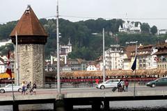 Il simbolo di Lucerna (Familygo) Tags: travel kids children lago bambini svizzera viaggi viaggio