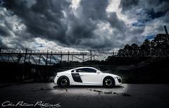 Night R8 (ChrisPetruccio Photography) Tags: white night spider fast headlights led clean audi supercar 2012 r8 audir8 2013