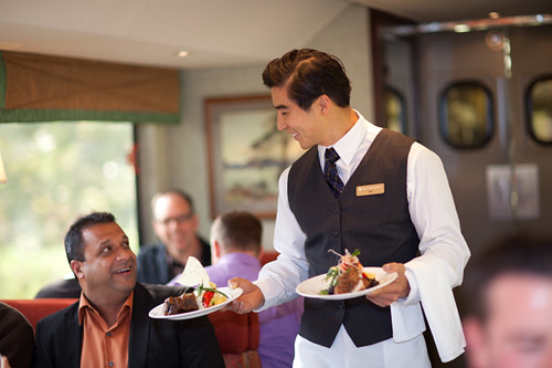 Service, The Rocky Mountaineer from The Luxury Train Club