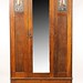 104. English Art Deco Armoire