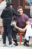 Lou Ferrigno on the set of the new film 'I Love You, Man' Los Angeles, California