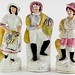 213. Group of Staffordshire Figures