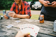 (staceymccool) Tags: camping film beer 35mm canon cards guelph caesar hillside 2012 photura
