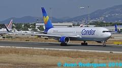 D-ABUF - Condor - Boeing 767-330(ER) - PMI/LEPA (Juan Rodriguez - PMI/LEPA) Tags: plane airplane airport nikon aircraft sigma boeing condor mallorca palma aeropuerto 70200mm 80400mm thomascook b767 d90 aeroplano sonsanjuan sonsantjoan dabuf pmilepa