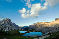 ... rialzarsi ... (gio_guarda_le_stelle) Tags: dolomiti sunset lake sky clouds nature atmosphere sofia mountainscape pap tartaruga cielo vita dolcezza grazie