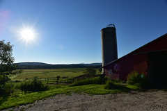Camel's Hump Vermont - Red Barn (Johnny Swanson) Tags: camel hump vermont red barn sunrise landscape cycling