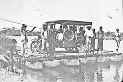 K111Rj Crossing a river on a jangada (PaulBlake1957) Tags: angola methodist travel jangada ferry raft dugoutcanoes rivercrossing