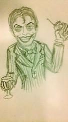 Brickus-Verse Joker Sketch (biggusbrickus) Tags: joker dc batman verse au brickusverse