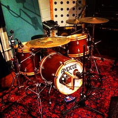 Mic the Drums (Pennan_Brae) Tags: drums percussion drumming cymbal drumset music studio recording recordingstudio srummer musicalinstrument instrument
